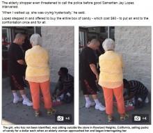 【海外発!Breaking News】胸焦がすストーリー 金持ち白人女性、キャンディ売りの少女、そして…(米)