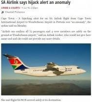 【海外発!Breaking News】旅客機ハイジャックシグナルを誤送信 乗客ら機内に4時間閉じ込められる(南ア)