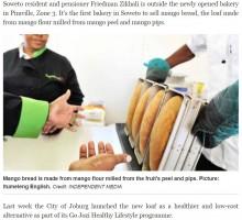 【海外発!Breaking News】貧困層の人々の食生活改善の切り札「マンゴーパン」に期待高まる(南ア)