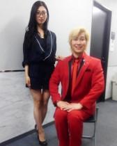【エンタがビタミン♪】カズレーザーと壇蜜、妖しい2ショットを公開「いろんな意味で突き抜けてる二人」