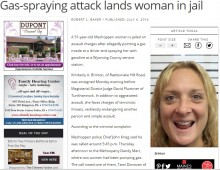 【海外発!Breaking News】ガソリンスタンドで喫煙を注意された女が逆ギレ ガソリンのノズルを噴射(米)