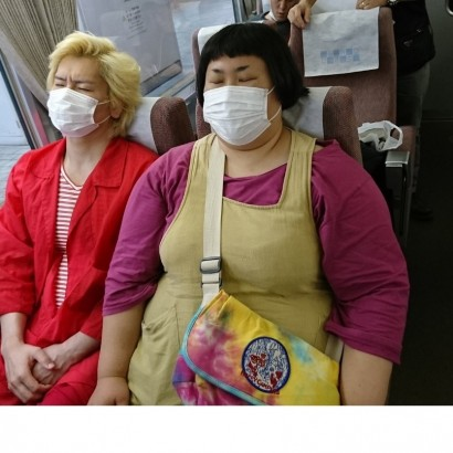 【エンタがビタミン♪】メイプル超合金が、列車に並んで座ると大変な状況に! 「こんなカップルは嫌だ」