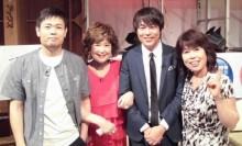 【エンタがビタミン♪】品川祐と村本大輔 母親同伴4ショットで「仲直り」?
