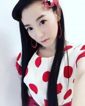 【エンタがビタミン♪】篠原ともえが「日本人形みたい」に 黒髪と白い肌が美しさを引き立てる