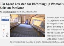 【海外発!Breaking News】米運輸保安局続く不祥事 空港セキュリティ係官の男が盗撮行為 逮捕される