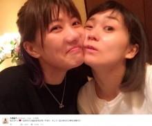 【エンタがビタミン♪】大島優子、宮澤佐江と密着ツーショット「一生 あなたの幸せを願うわ」