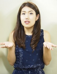 表情がくるくる変わる横澤夏子