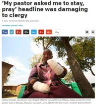 【海外発!Breaking News】「子供が産めない」と夫に両手を切断された女性にさらなる悲劇(ケニア)