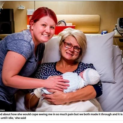 【海外発!Breaking News】白血病を患った娘に代わり46歳母が代理出産(豪)