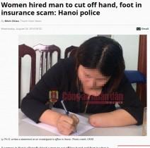 【海外発!Breaking News】保険金欲しさに 列車事故を装い手足を切断した女性(ベトナム)