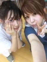 【エンタがビタミン♪】高橋愛&田中れいな 2ショットに「プラチナエース!」「愛れな最強」