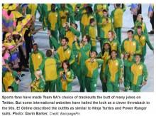 【海外発!Breaking News】「ダサい」リオ五輪で批判浴びた南アフリカのユニフォーム スポーツ相も「相応しくない」