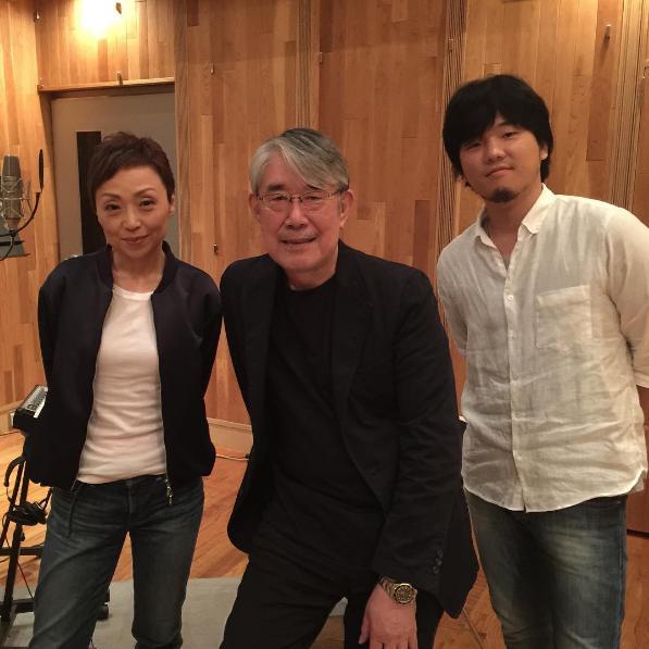 クミコ、松本隆、秦基博(出典:https://www.instagram.com/takashi_mtmt)
