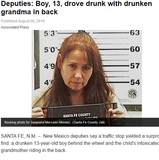 【海外発!Breaking News】13歳少年が飲酒運転 後部座席には酩酊した祖母と缶ビール(米)