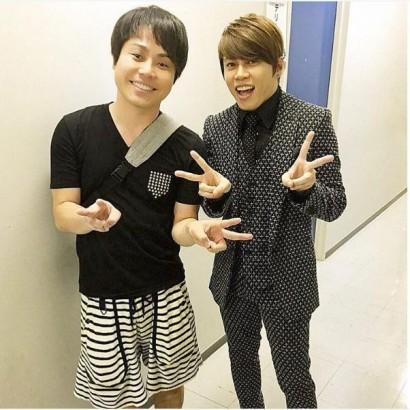 【エンタがビタミン♪】西川貴教×ノンスタ井上、初の2ショット やっぱり似てる?