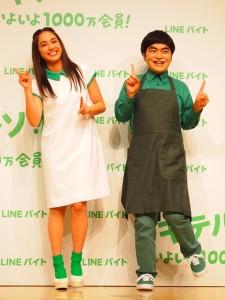 楽しそうにダンスを披露する平祐奈と加藤諒