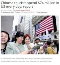 【海外発!Breaking News】「アメリカ大好き」中国人観光客 昨年なんと1日平均75億円を落としていた!