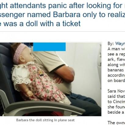【海外発!Breaking News】米旅客機、女性搭乗者が行方不明で離陸できず その正体は…