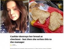 【海外発!Breaking News】自閉症の店員にパンを台無しにされた主婦 SNSで店へ感謝の気持ちを伝える(英)