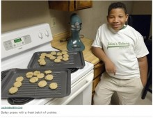 【海外発!Breaking News】「お母さんに家を買ってあげたい」8歳少年がベーカリーをオープン(米)