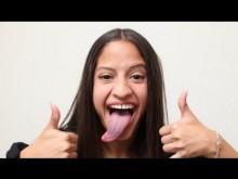 【海外発!Breaking News】舌で耳たぶをなめる! 『ギネス世界記録』を狙うアメリカの女の子<動画あり>