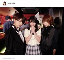 【エンタがビタミン♪】HKT48宮脇咲良が男装 イケメンぶりに松岡菜摘「恋をしました」