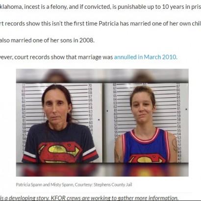【海外発!Breaking News】実の母娘が夫婦に 近親婚容疑で逮捕される(米)