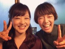 【エンタがビタミン♪】佐藤栞里&水卜麻美アナ、弾ける笑顔の神ショットを「待ち受けに」の声