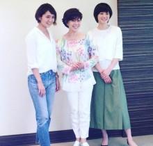 """【エンタがビタミン♪】上野樹里 """"和田家の嫁姑""""笑顔の3ショットに羨望の声「良い家に嫁ぎましたね」"""