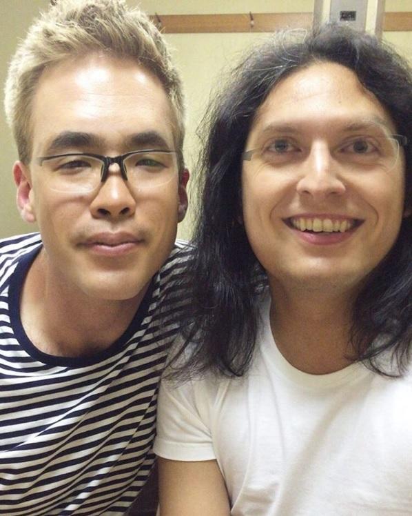 坪倉が投稿した「中岡ジェイソン」(出典:https://www.instagram.com/y.tsubokura)
