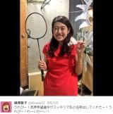 """【エンタがビタミン♪】バド奥原希望選手 """"そっくりさん""""横澤夏子に「お会いしたいです」とラブコール"""