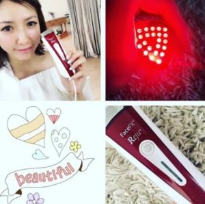美香さんも愛用『LED美顔器 シルキン FaceFX リジュー』(出典:https://www.instagram.com/mikaofficial99)
