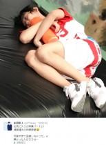 """【エンタがビタミン♪】須賀健太、""""盗撮""""された休憩中の寝姿が「めっちゃ可愛い」"""