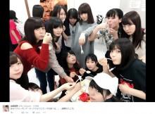 """【エンタがビタミン♪】NGT48北原里英が「最悪なたとえ」 ケーキに群がるメンバーを""""ウォーキング・デッド"""""""