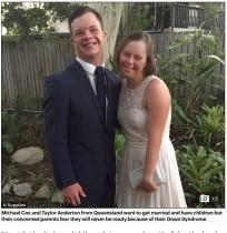 【海外発!Breaking News】「結婚して子供が欲しい」ダウン症カップルに立ちはだかる現実の壁(豪)