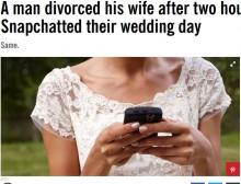 【海外発!Breaking News】SNSに結婚式の写真を投稿した花嫁 「契約違反」として式から2時間後に離婚(サウジアラビア)