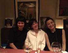 【エンタがビタミン♪】柴咲コウ、鈴木京香、滝川クリステルが3ショット 「美女まつり」と称賛