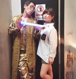 【エンタがビタミン♪】AAA宇野実彩子、世界中で大流行「PPAP」ピコ太郎との2ショット その正体に驚く声!