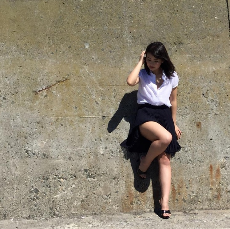 平嶋夏海写真集『ナツコイ』オフショット(出典:https://www.instagram.com/natsuminsta528)