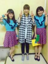 【エンタがビタミン♪】Negicco&KIRINJI弓木英梨乃 2月のライブを前にコラボショット