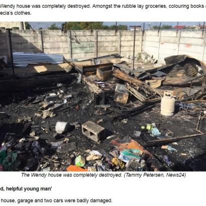 【海外発!Breaking News】火災で逃げ場をなくした男性、冷凍庫に避難するも死亡(南ア)