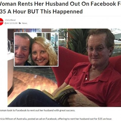 【海外発!Breaking News】「1時間35ドルで夫貸します」 レンタル夫ビジネスで大成功した夫妻(豪)