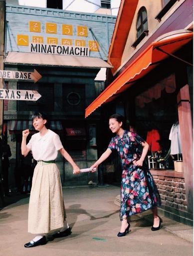 『とと姉ちゃん』から『べっぴんさん』へバトンタッチ(出典:https://www.instagram.com/mitsuki_takahata)