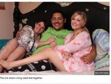 【海外発!Breaking News】複数の人を同時に愛する 夫婦プラス彼女 「ポリアモリー」な3人の関係は良好(米)