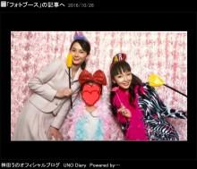 【エンタがビタミン♪】神田うの、愛娘5歳の誕生会を六本木ヒルズで祝う