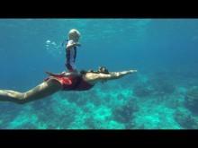 【海外発!Breaking News】3歳のフリーダイバー 素潜りで10メートルの深さまで(露)<動画あり>