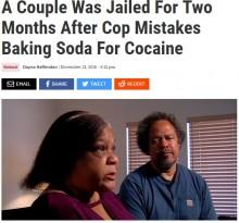 【海外発!Breaking News】粗悪すぎる薬物検査 重曹をコカインとみなされた夫婦が2か月拘置所に(米)
