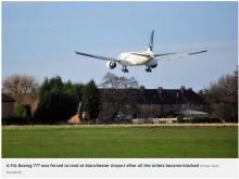 【海外発!Breaking News】ボーイング777機 全てのトイレが詰まり使用できず 緊急着陸