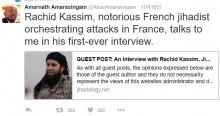 【海外発!Breaking News】イスラム国最重要人物が取材に応じる 「アッラーの敵を殺す、こんな楽しいことはない」