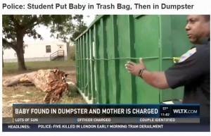 【海外発!Breaking News】「赤ちゃんポスト」利用しない現実 大学のゴミ箱から新生児 母親は19歳女子学生(米)